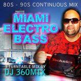 DJ 360MIX 2011 May - Traffic Jams - 80s 90s Miami Electro Bass / Rap Mix