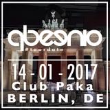 Qbeenio live at Berlin Club Paka 14-01-2017