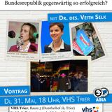 Dr. Veith Selk - Der neue deutsche Populismus (31. Mai 2016)