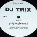 DJ Trix - Sort It Out (Live @ Kilwaughter House) 1994 Side a