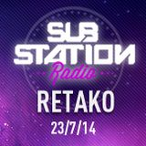 ● RETAKO (Breakstorm) ● Set Break Beat + entrevista en Substation Radio On Line ● JULIO 2014