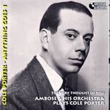 Bryan Warnett's Anderson Shelter Show featuring Ambrose & His Orchestra playing Cole Porter