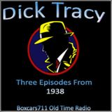 The Adventures Of Dick Tracy - 3 Episodes From 1938