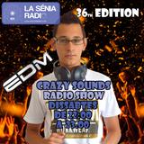 Joan Barrera DJ - Crazy Sounds Radio Show 36 @LaSeniaRadio
