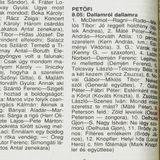 Dallamról dallamra. Szerkesztő: Szőke Cecília. 1993.11.11. Petőfi rádió. 8.05-8.50.