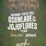 Yoruba Gotsoul Live at Peopl Montreal Feb 2013 ft Osunlade & jojoflores