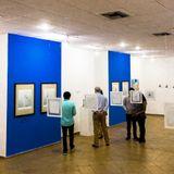 Formas angulares en ESPLENDOR la exposición de José Rosero en Santa Marta