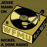 Jesse Mann On WMFU Nickle & Dime Radio