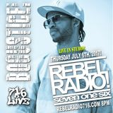 2017-07-06 Rebel Radio 716 Show 135 with Bogustice!!!