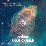 Andruss & Pablo Carrillo @20DOCE (Aniversario 7) 03.02.2017