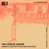 The Food & Liquor w/ Philip Rugo & Kyttenjanae - 14th July 2017