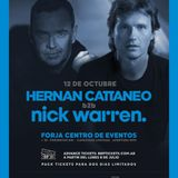 Hernan Cattaneo B2B Nick Warren - Live @ Forja Centro de Eventos -  12-Oct-2019