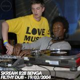 Skream b2b Benga - Live at Filthy Dub - 19-03-2004
