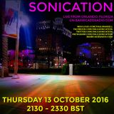 Sonication with Paul Mansell on Barricade Radio  13 October 2016 #AcidHouse