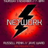 NETWORK #90 guest mix for russell penn's NETWORK show on BOXFREQUENCY..