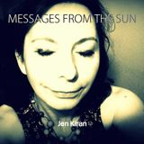 Messages from the sun