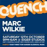 Marc Wilkie Quench @ Eiger Studios, Leeds 12/10 11:30-1:00 Set