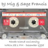 DJ Mig & Sage Francis - Live @ Rhode Island University WRIU 88.1 FM (1998.02)