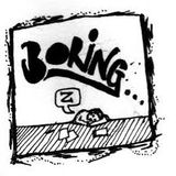 Monday ... the most boring day ...