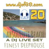 AbSoulute Beach 20 - Finest DeepHouse (The One Marbella & Ibiza Global Radio)