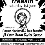 A Love From Outer Space June 2013