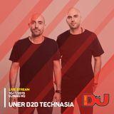 Uner B2B Technasia from DJ Mag HQ 10/7/2015