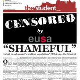 EUSA gags The Student newspaper (from live show Wed 6th February 2013)