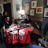 Radio Yes Cymru's first English-language live show, 14-9-18 Aberystwyth