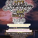 NYE LUXURY BOAT PARTY 31.12.18 @ TEREZA JOANNE | MIXED BY SHORTY BLESS