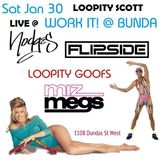 Loopity Goofs Live @ Work It @ Bunda Jan 30 2016