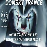 VOCAL TRANCE VOL 110  RTO GUEST MIX 11 MIXED BY DOMSKY