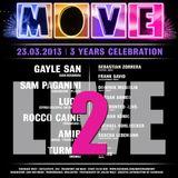 Frank Savio & Toe (B2B) Live @ 3 Years Move | Part 2 [Tanzhaus West] 23.03.13