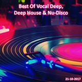 Best Of Vocal Deep, Deep House & Nu-Disco #25 - 21/10/2017