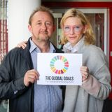 Cate Blanchet and Andrew Upton Show