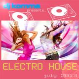 dj komma presents... July 2013 / Electro House