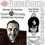 HouseBound  Saturday 9th November 2019 ft. Guest Dj Simon Kennedy