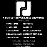 Nautilus @ Subverted Presents: Perfect Driver Label Party