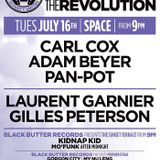 Carl Cox b2b Laurent Garnier @ The Party Unites - Space Ibiza (16-07-2013)