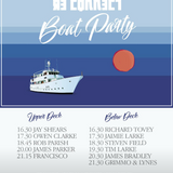 D.Grimley Boat Party 23rd June 2018 90mins downstairs
