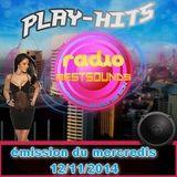 Play-hits-émission du mercredis 12/11/2014