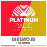 DJ Etayo JD / Thursday 1st September 2016 @ 2pm - Recorded Live On PRLlive.com