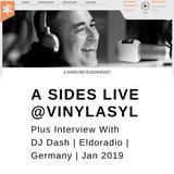 A Sides Live On  VinylAsyl (Eldoradio) Germany - Jan 2019