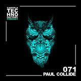 Carypla Techno Factory Podcast #071 mixed by Paul Collide