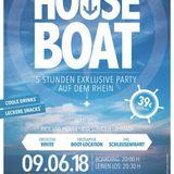 Vincent Ahmadi, Ana Sonique & Rick van House live @ Houseboat 09.06.18