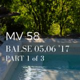 MV. 58 BALSE 2017 MAY,JUNE, 1 of 3 (warmup)