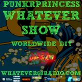 Saturday Morning unsigned music with PunkrPrincess recorded live 4/8/17 only @whatever68.com