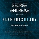 George Andreas - Elements of Joy 111