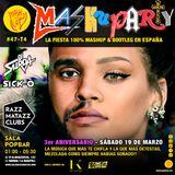 MashuParty #47 3er Aniversario - DJ Surda (MashCat Team) & Friends - PopBar Razzmatazz (2016/03/19)