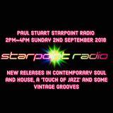 Paul Stuart Starpoint Radio Sunday 2nd September 2018