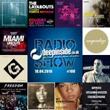 DEEPINSIDE RADIO SHOW 108 (Klevakeys Artist of the week)